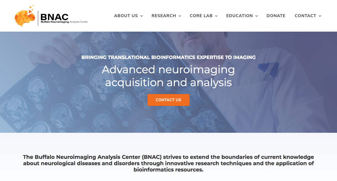 Buffalo Neuroimaging Analysis Center