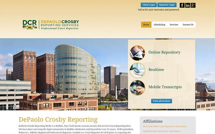 Depaulo Crosby Reporting Services