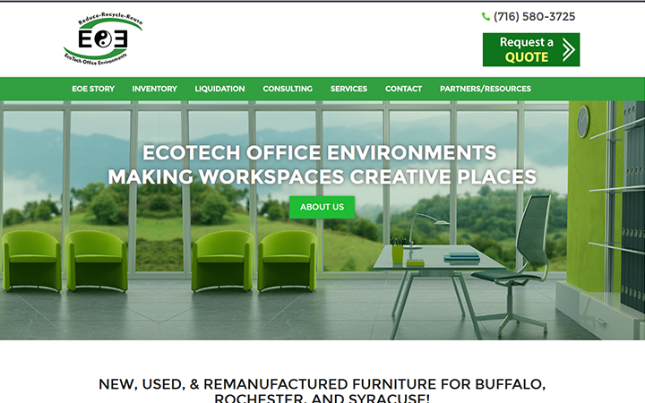 Eco-Tech Office Environments