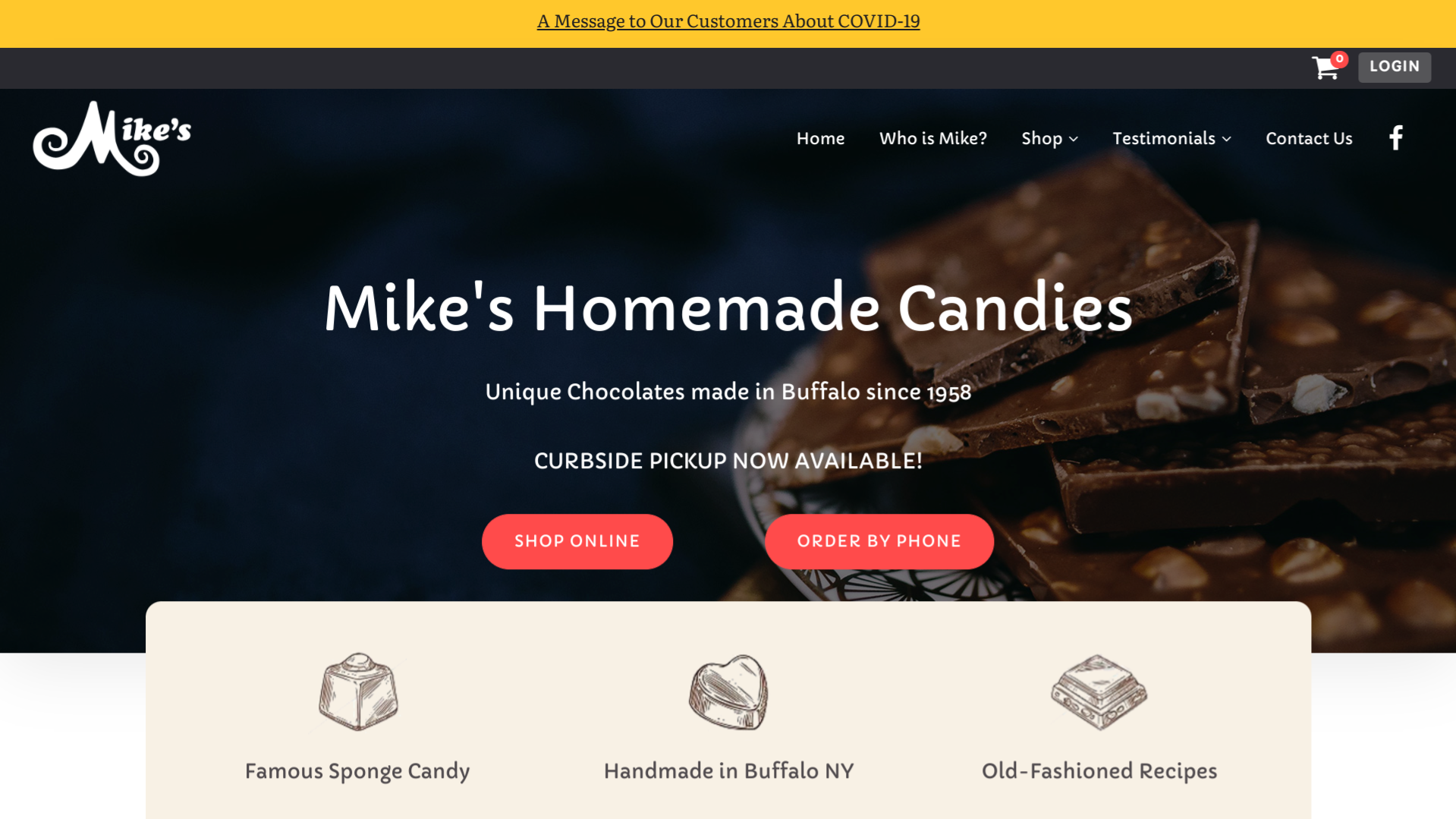 Mike's Homemade Candies