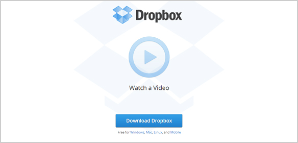 Dropbox - Call to Action