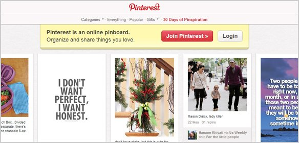 Pinterest - Call to Action