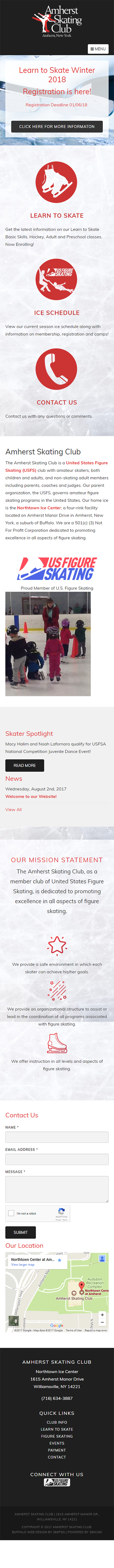Amherst Skating Club Mobile