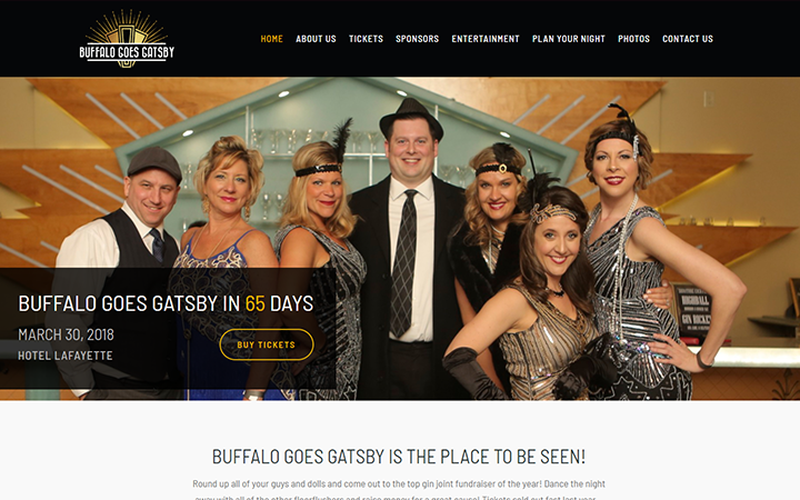 Buffalo Goes Gatsby