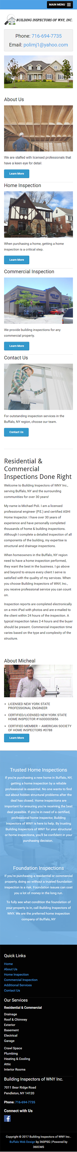 Building Inspectors of WNY Mobile