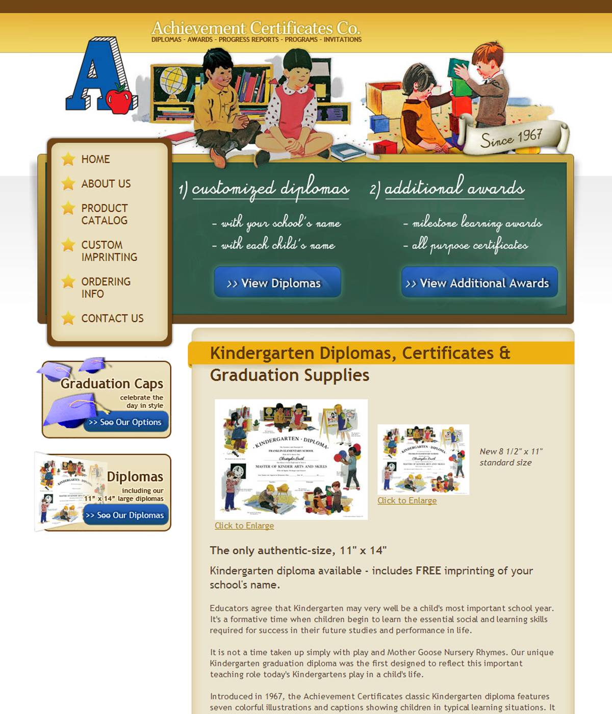 Achievement Certificates Co.