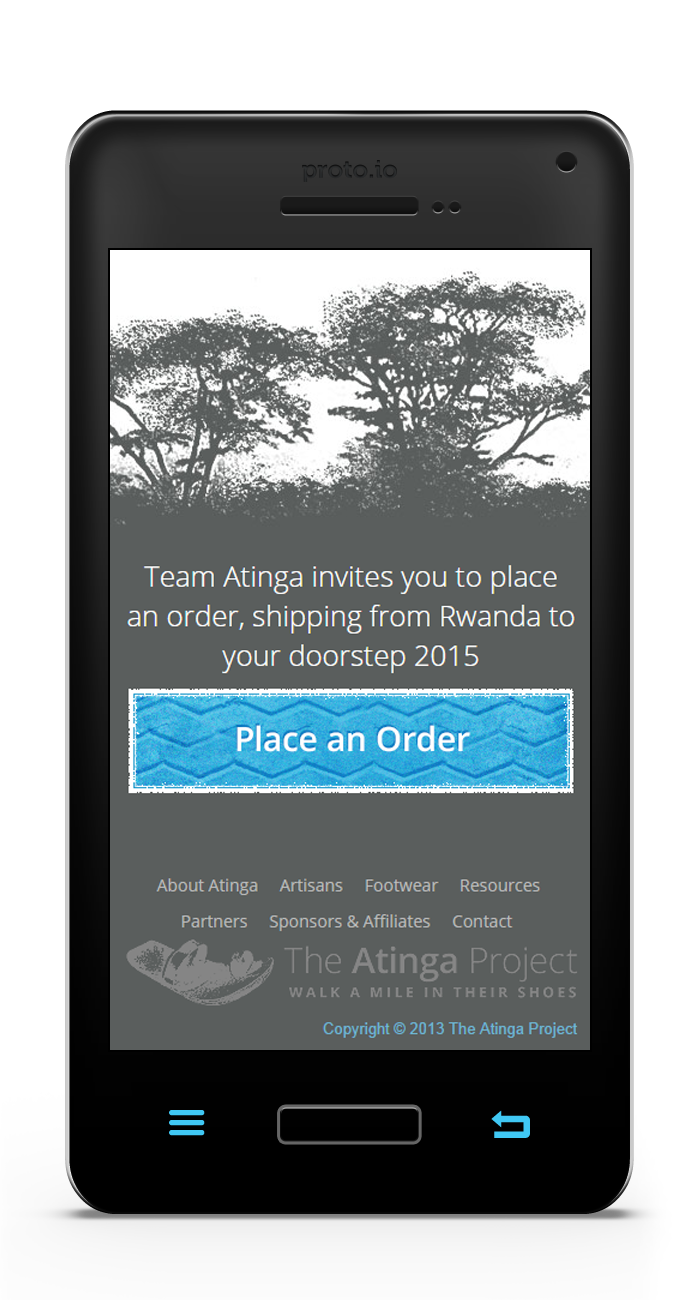 The Atinga Project Mobile