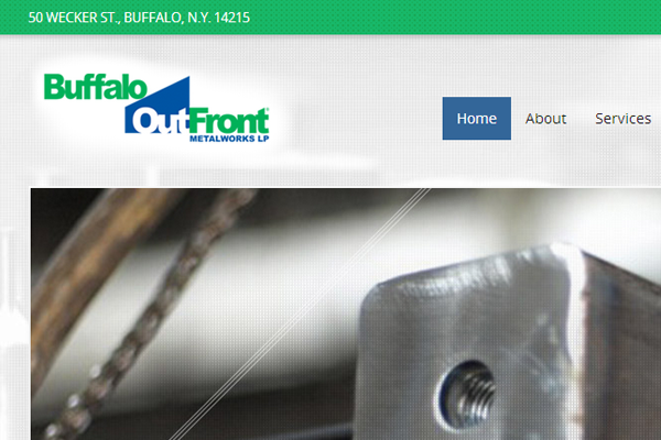 Buffalo Outfront Metalworks Launches A New Site