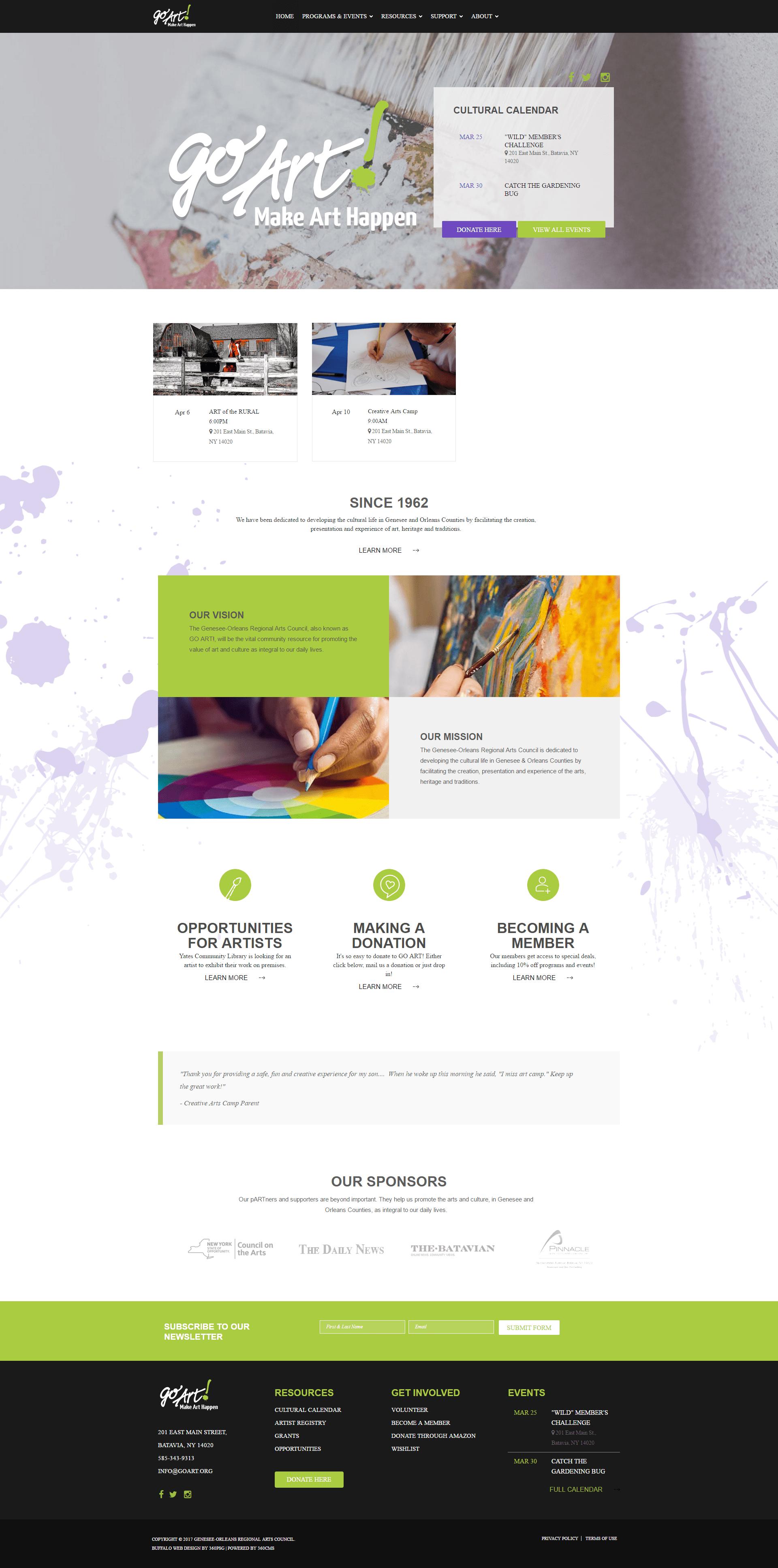 Buffalo Web Design & Development : Buffalo, NY : 360 PSG