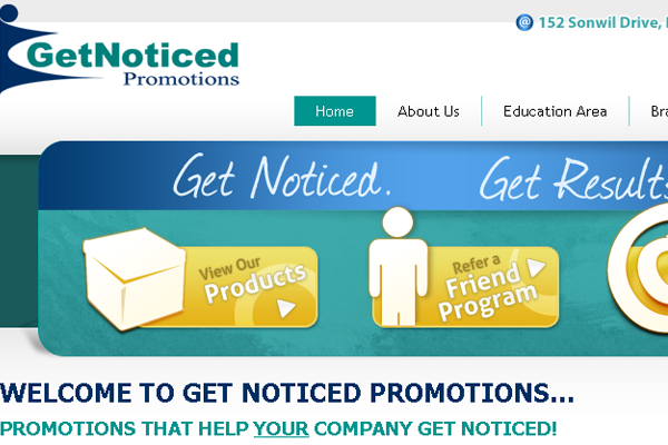 Get Noticed Promotions