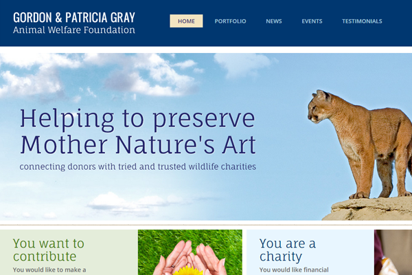 The Gordon and Patricia Gray Animal Welfare Foundation