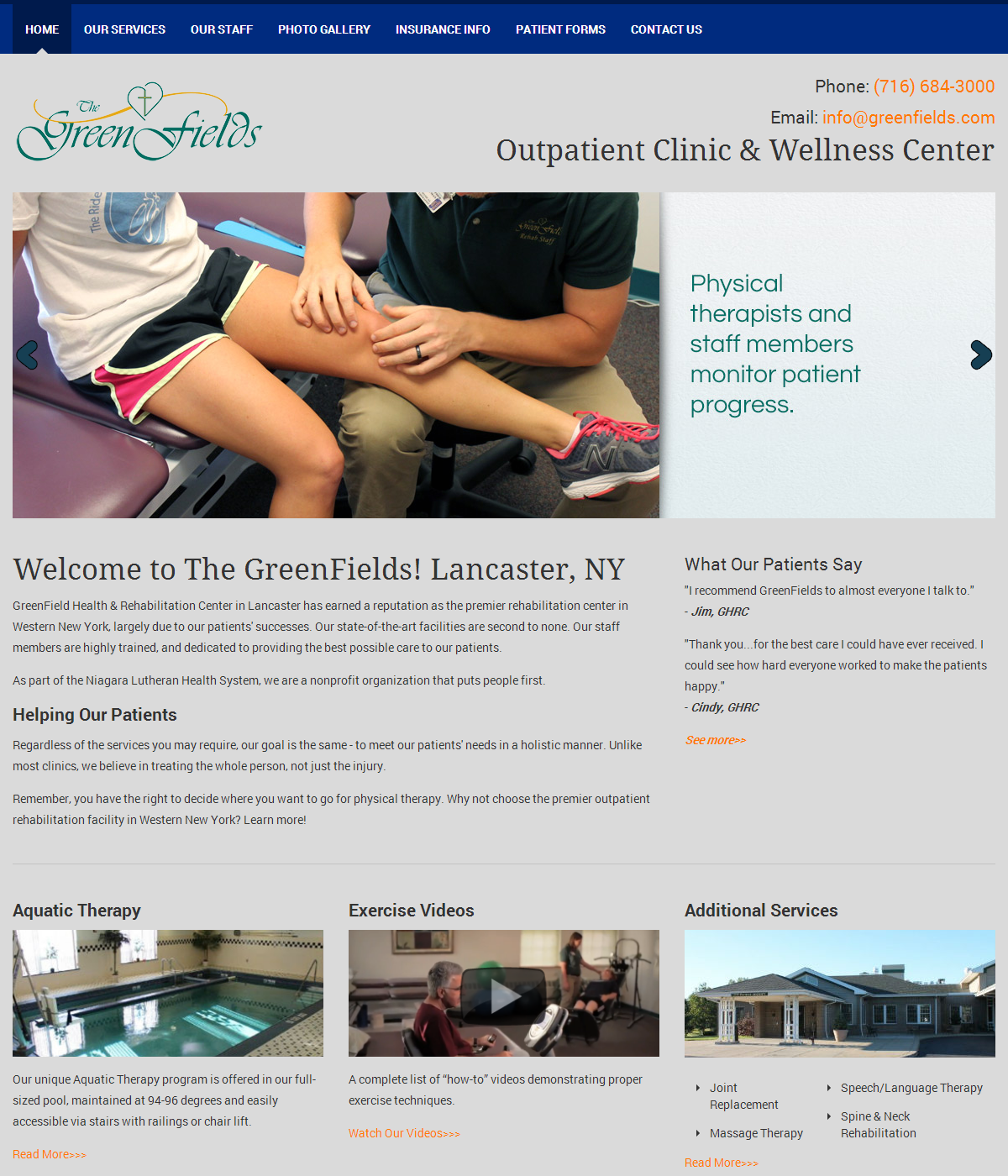 GreenField Health & Rehabilitation Center