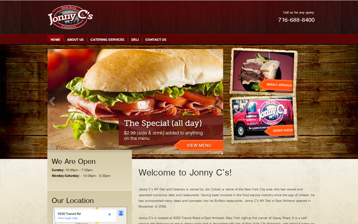 Jonny C's New York Caterers