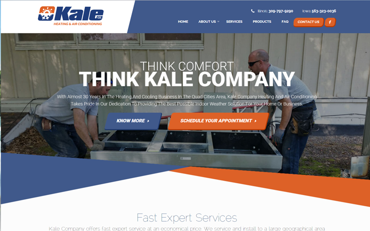 Kale Company Heating and Air Conditioing