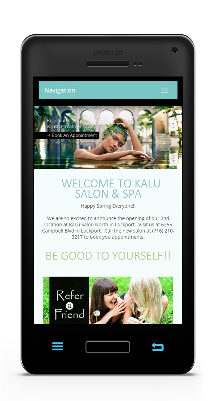 KaLu Salon & Spa Mobile