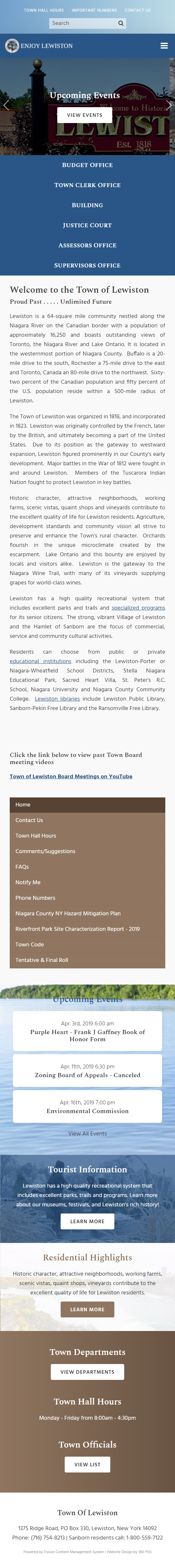 Town of Lewiston Mobile