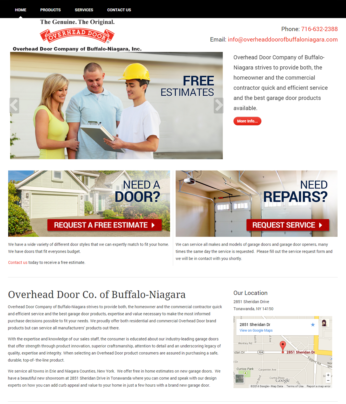 Overhead Door Company of Buffalo-Niagara, Inc.