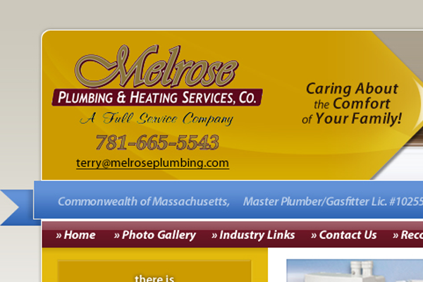 Melrose Plumbing and Heating Services, Co.