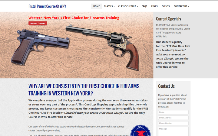 Pistol Permit Course of WNY