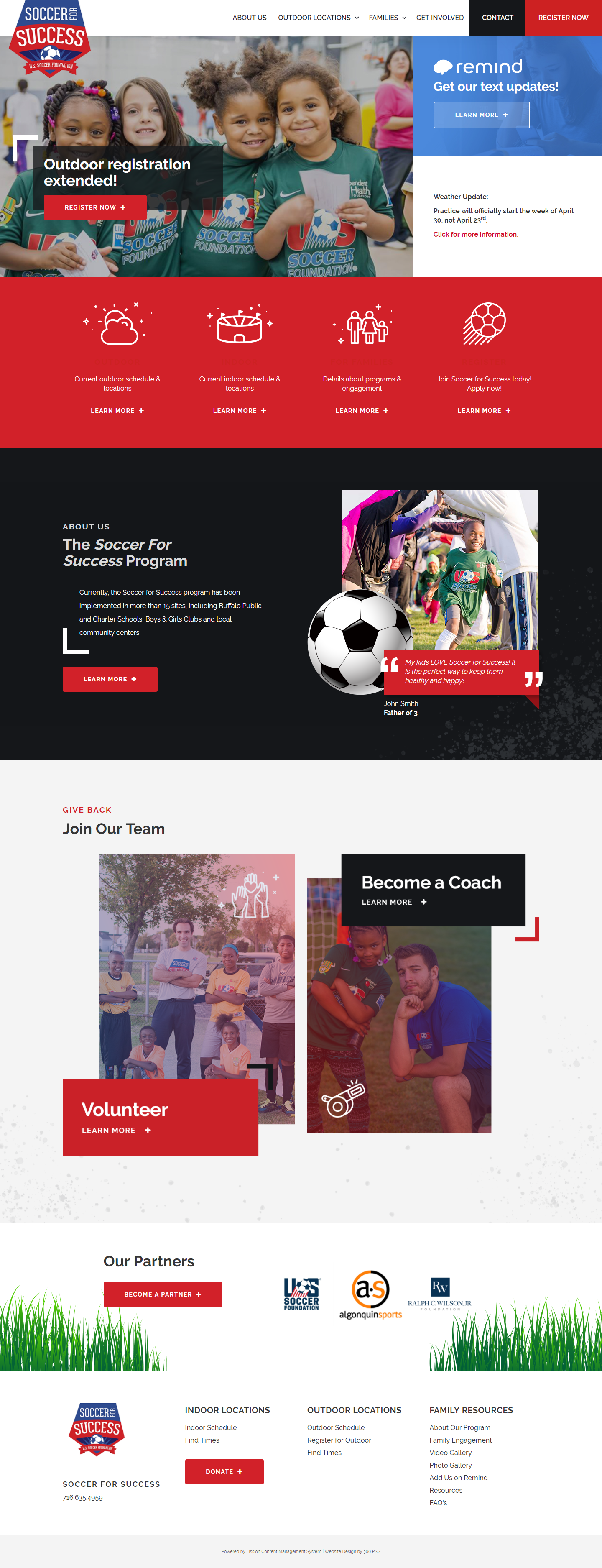 Soccer For Success Desktop