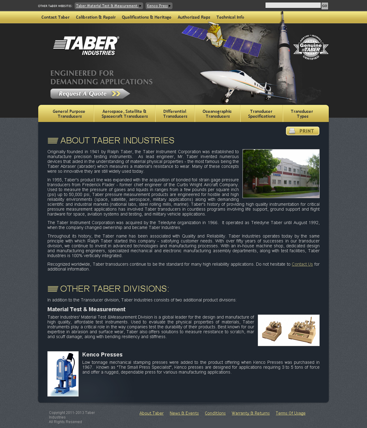 Taber Transducer (Taber Industries)