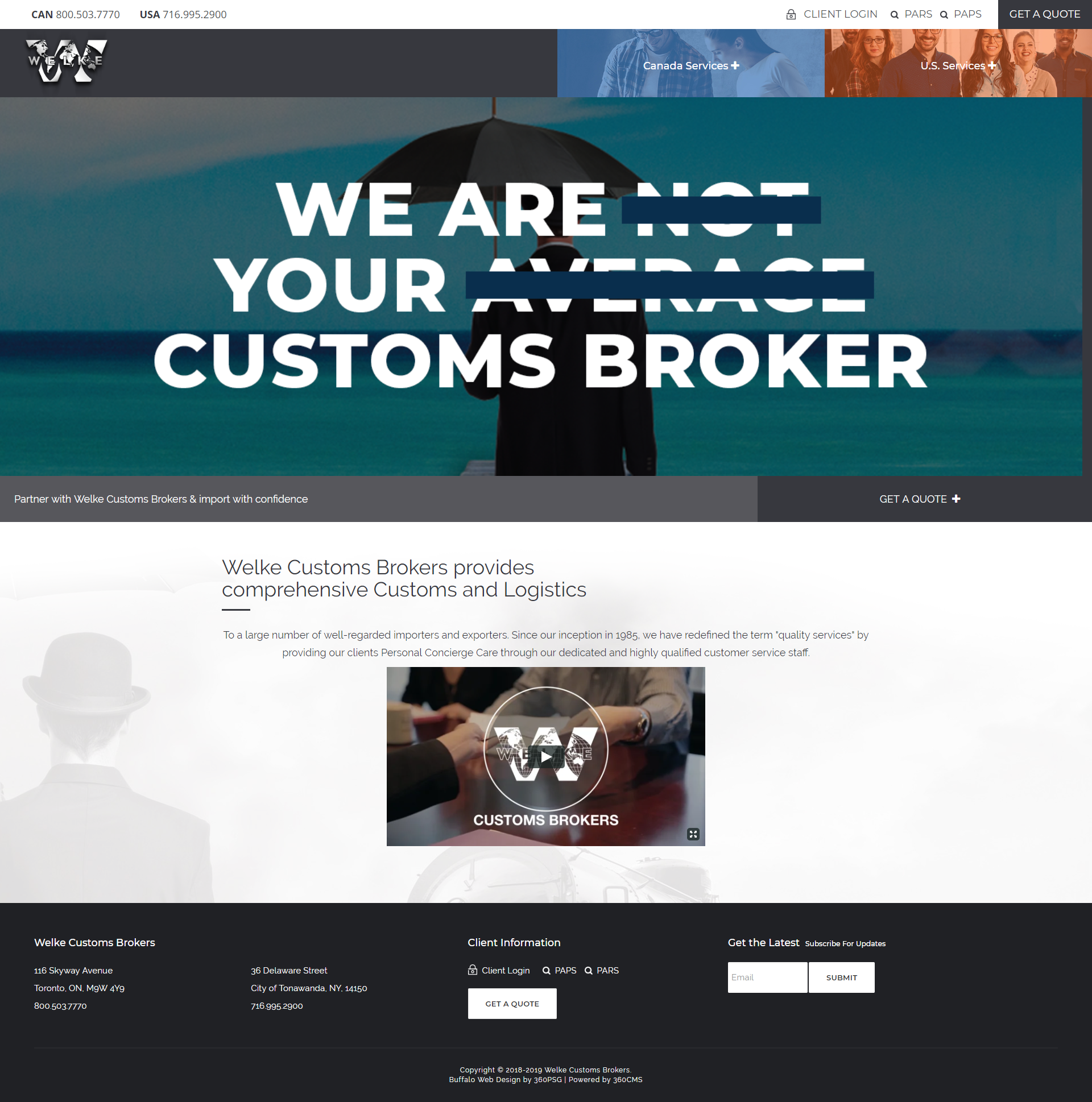 Welke Customs Brokers