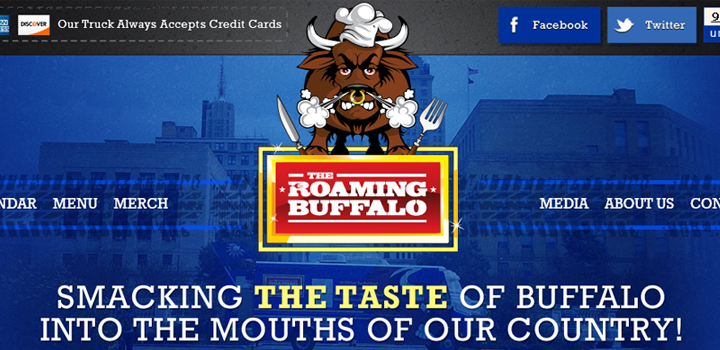 roaming buffalo web design