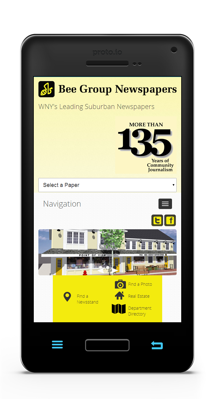 Bee Group Newspapers Mobile